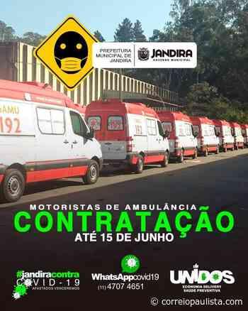 Jandira abre Concurso Público para motorista de ambulância - Correio Paulista