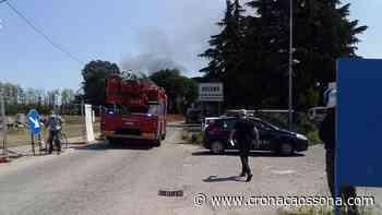 Grosso incendio nella zona industriale di Arluno. Galleria immagini - CO Notizie - News ZOOM - Cronaca Ossona - CO Notizie