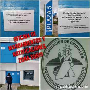Habilitan un espacio para agentes notificadores en complejo de Punta Mogotes - Puntonoticias