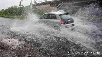 Bonn/Siegburg: A3 sackt nach Regenfällen ab - t-online.de