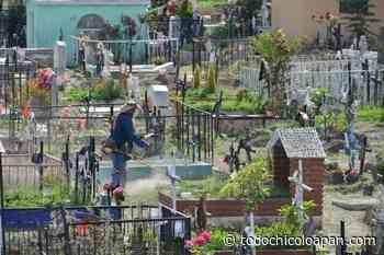 En Atizapan de Zaragoza los panteones estarán cerrados este fin de semana por pandemia - Noticias de Chicoloapan