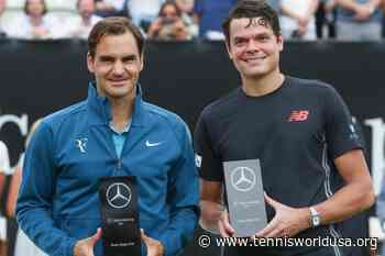 ThrowbackTimes Stuttgart: Roger Federer downs Milos Raonic to win the title - Tennis World USA