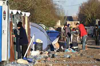 Grande-Synthe : plus de 300 migrants se retrouvent sans douche ni toilette - France 3 Régions