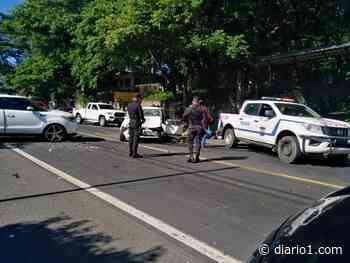Accidente de tránsito deja dos lesionados en Guazapa - diario1.com