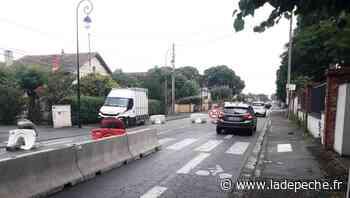 Aucamville. Renouvellement des réseaux d'eaux route de Fronton - ladepeche.fr
