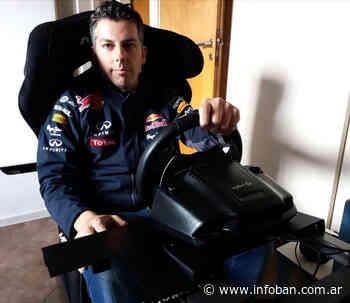Christian Andlovec, piloto de Villa Martelli, participará este domingo en la carrera de TC Pickup Virtual de la ACTC - InfoBan