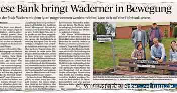 """SZ-Serie """"Vor Jahr und Tag"""": Werden die Mitfahrerbänke in Wadern genutzt? - Saarbrücker Zeitung"""