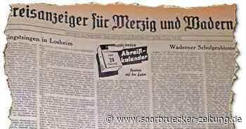 SZ-Lokalausgabe Merzig-Wadern am Tag der Erstbesteigung des Mount Everest - Saarbrücker Zeitung