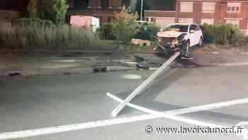 Somain: un conducteur alcoolisé percute un candélabre aux Quatre-Chemins - La Voix du Nord