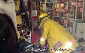 Corto circuito incendia vivienda en Macuspana - El Heraldo de Tabasco