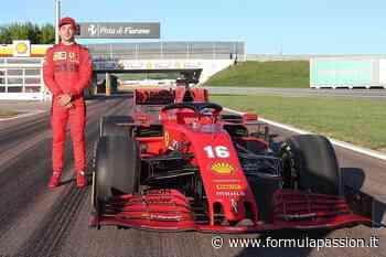 Leclerc a Fiorano con la Ferrari -... - FormulaPassion.it