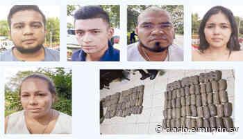 A prisión presuntos traficantes de droga detenidos en Moncagua - Diario El Mundo