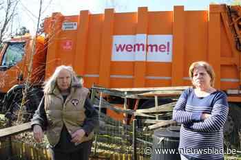 Afgedankte voertuigen van gemeentediensten zetten kwaad bloe... (Wemmel) - Het Nieuwsblad