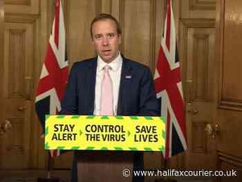 Matt Hancock reveals coronavirus outbreak in Kirklees workplace - Halifax Courier