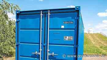 Manching: Der erste Container steht - Bis Juni sollen für die Pump&Treat-Anlage ein Entnahme- und ein Schluckbrunnen gebohrt werden - donaukurier.de