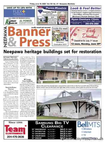 Friday, June 19, 2020 Neepawa Banner & Press - myWestman.ca