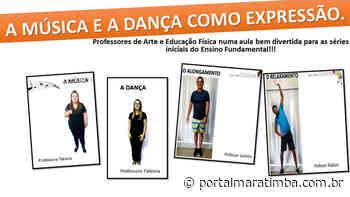 Aula interdisciplinar é produzida por professores de Mimoso do Sul - Portal Maratimba