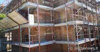 Tolentino, proseguono i lavori di ristrutturazione della ex scuola rurale Paterno - Picchio News