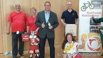 Aktion für einen guten Zweck: Sportler kommen zum Radeln nach Vallendar - Rhein-Zeitung