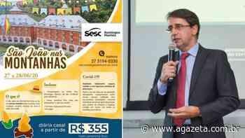 Sesc anuncia evento em Domingos Martins e secretário rebate: 'Espantoso' - A Gazeta ES