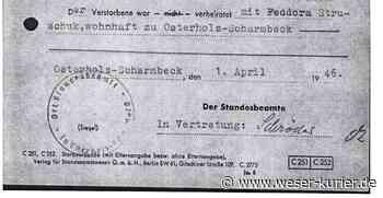 Stolpersteine: Neuer Anlauf für Gedenkzeichen in Osterholz-Scharmbeck - WESER-KURIER