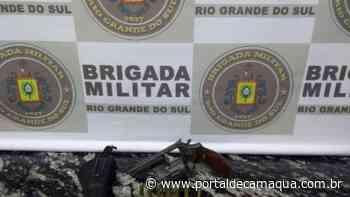 Brigada Militar prende indivíduo por porte ilegal de arma em Soledade - Portal de Camaquã