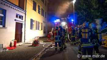 Weimar: Wohnung nach Brand unbewohnbar - Mann im Klinikum - MDR