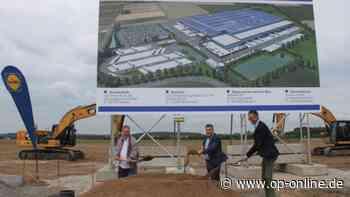 Spatenstich für Lidl-Logistikzentrum in Erlensee - Über 200 neue Arbeitsplätze geplant - op-online.de