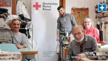 DRK-Aktion in Weener: Flüchtling näht ehrenamtlich Mund-Nase-Bedeckungen - Nordwest-Zeitung