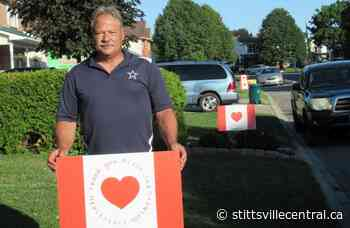 Stittsville man shows support for frontline healthcare workers - StittsvilleCentral.ca