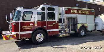 Corner Brook Fire Department Welcomes New Custom-Built Truck - VOCM