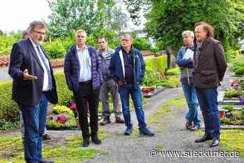 Pfullendorf: Neue Grab- und Urnenfelder sollen entstehen: Ausschuss bespricht Pläne für Friedhof - SÜDKURIER Online