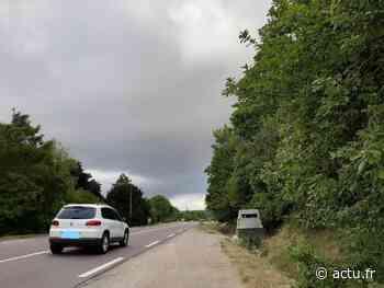 Yvelines. Flins-sur-Seine/Orgeval : le radar de la N13 encore déplacé - actu.fr