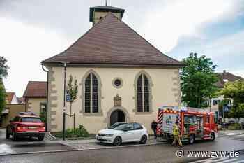Starkregen sorgt für Wassereinbruch in Evangelischer Kirche in Kernen-Stetten - Blaulicht - Zeitungsverlag Waiblingen