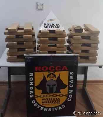 Casal é detido com 60 kg de maconha em Pitangui e Leandro Ferreira - G1