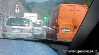 A26, incidente tra Ovada e Masone: 9 chilometri di coda verso Genova - Genova 24 - Genova24.it