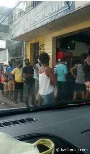 Candeias: ruas e estabelecimentos ficam lotados após fim do lockdown - Bahia No Ar!