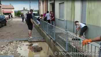 Nubifragio su Pederobba e Valdobbiadene, allagamenti e un fiume di fango: milioni di danni - La Tribuna di Treviso