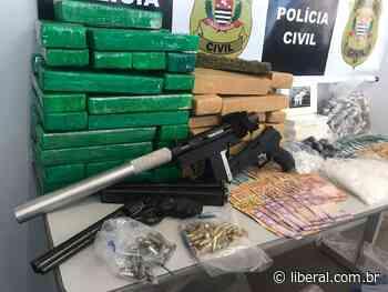 Presos durante operação em SB comandavam o tráfico em Capivari, diz delegado - O Liberal