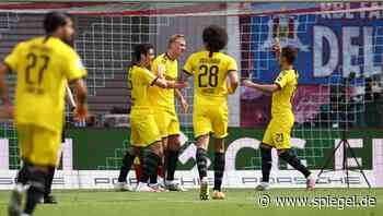 Borussia Dortmund ist Vizemeiste, Borussia Mönchengladbach verdrängt Bayer Leverkusen vom Champions-League-Platz