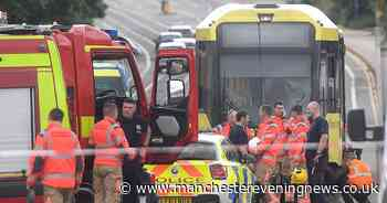 Woman rushed to hospital after being hit by a tram in Salford - Manchester Evening News