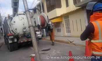 OTASS y EPS Grau ejecutan trabajos en la zona alta de Paita - El Regional