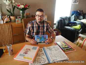 Postbode Wim (37) houdt er bijzondere passie op na, met lokale agente en Vikingjongetje - Het Nieuwsblad