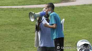 'It's heartwarming': Okotoks, Alta. rallies against racism - CTV News