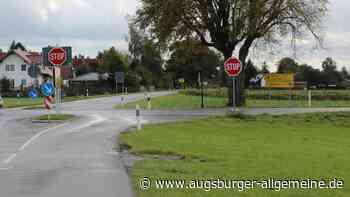 Verletzter bei Unfall auf der Boscha-Kreuzung bei Stockheim - Augsburger Allgemeine