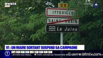 Municipales: le maire sortant d'Itteville, en Essonne, suspend sa campagne - BFMTV.COM