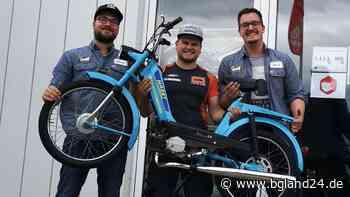 Freilassing: Vier Einheimische trennen sich für einen guten Zweck von ihrem mit Liebe restaurierten Moped - bgland24.de