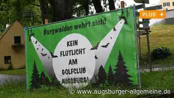Streit um Flutlichtanlage am Golfplatz in Burgwalden geht weiter - Augsburger Allgemeine