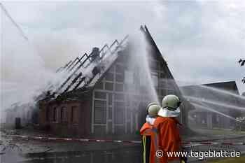Ermittlungen abgeschlossen: Ein Blitz löste das Großfeuer aus - TAGEBLATT - Lokalnachrichten aus Jork. - Tageblatt-online