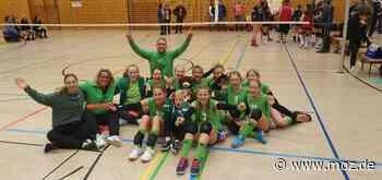 Volleyball: Saison der Mädchen des VSV Grün-Weiß Erkner bleibt ungekrönt - Märkische Onlinezeitung